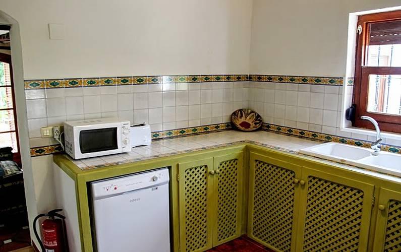 Casas Cocina Cádiz El Gastor Casa en entorno rural - Cocina