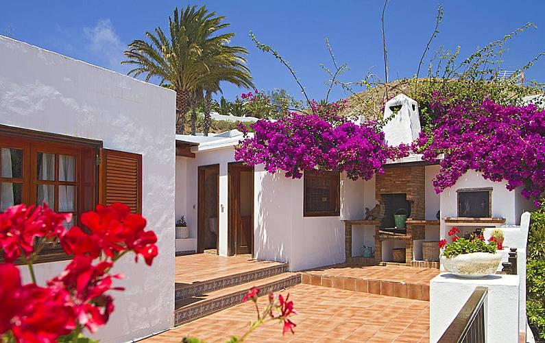 Villa Exterior del aloj. Lanzarote Teguise Villa en entorno rural - Exterior del aloj.