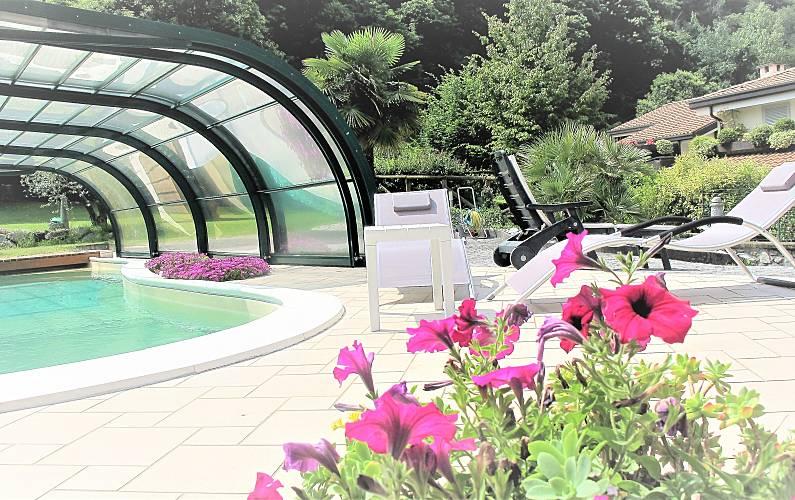 Casa Con Giardino In Affitto Brescia : Appartamento in affitto con piscina giardino bbq
