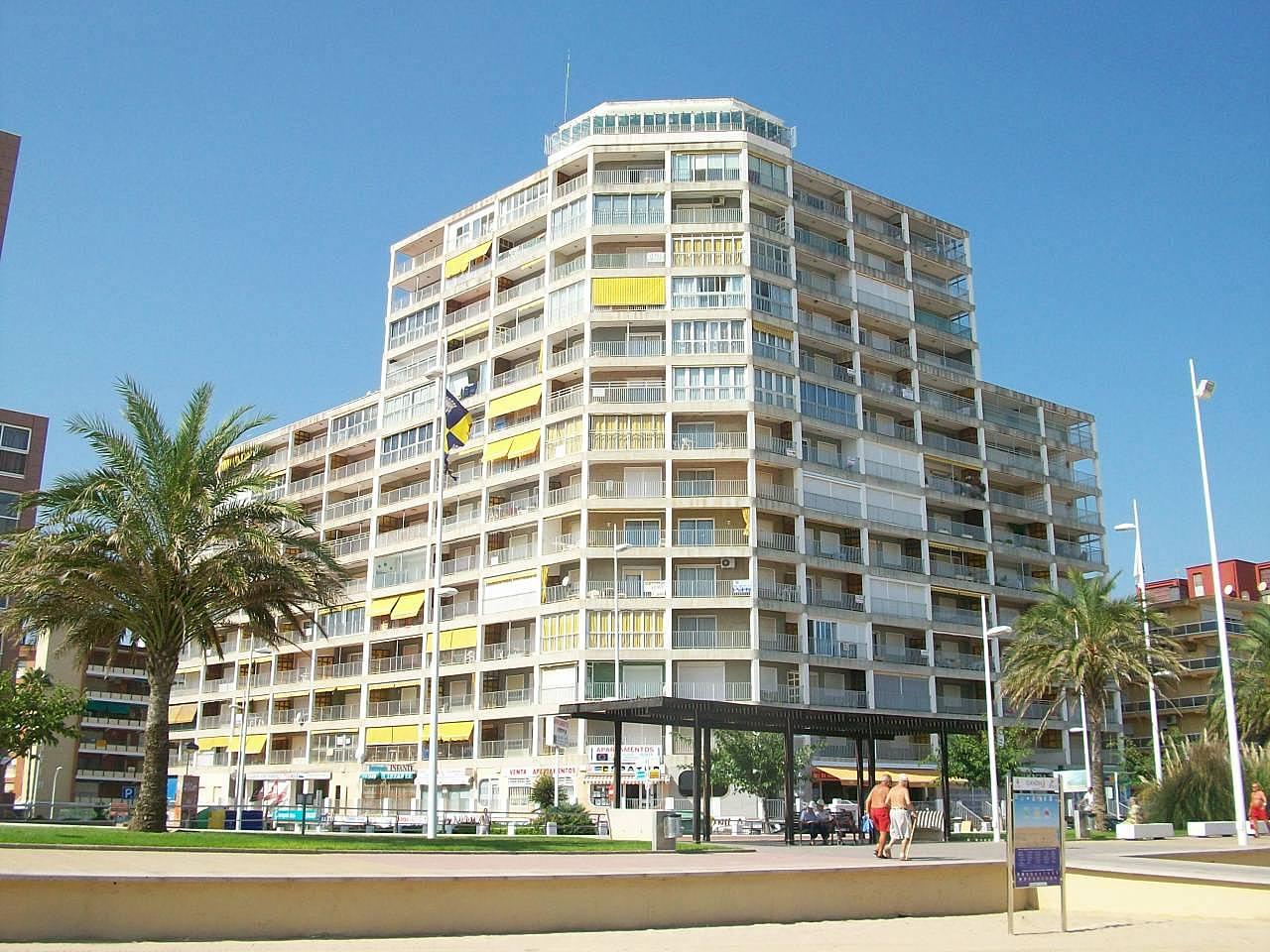 Gandia apartamentos 1 l nea de la playa gandia valencia - Playa gandia apartamentos ...