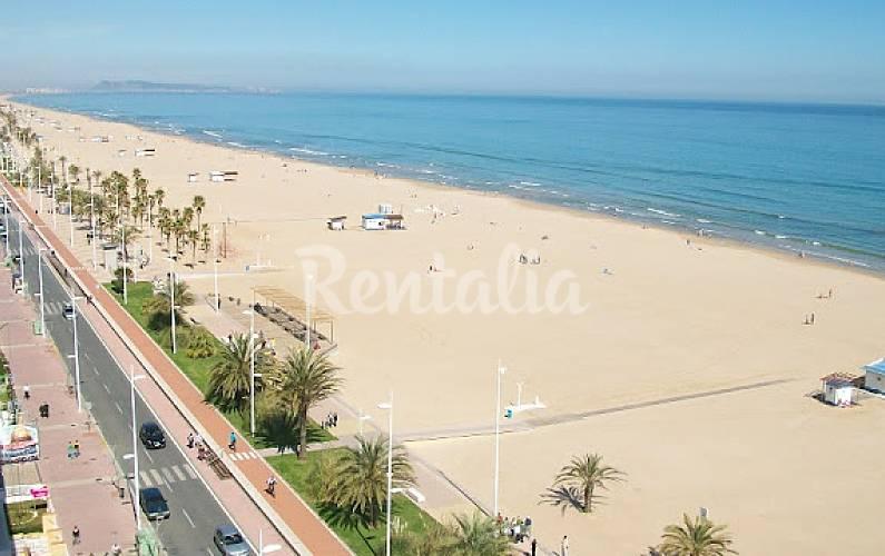 Gandia apartamentos playa piscina gandia valencia - Apartamentos en gandia playa ...