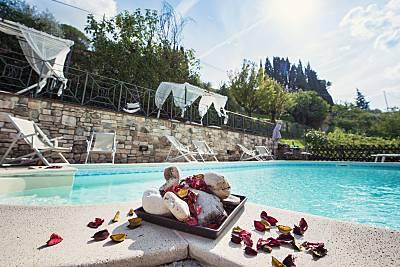 Casa con 1 stanza con eco  piscina e jacuzzi Perugia