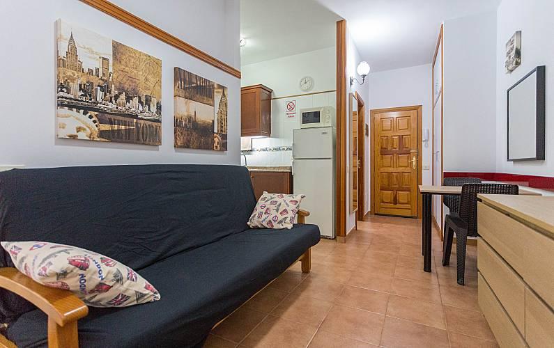 Beach Living-room Gran Canaria Las Palmas Apartment - Living-room