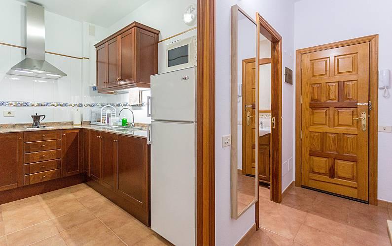 Beach Kitchen Gran Canaria Las Palmas Apartment - Kitchen