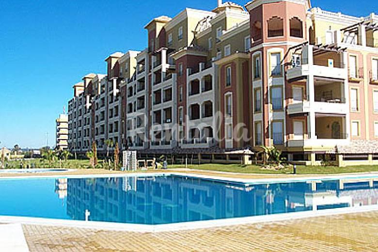 Apartamentos isla canela y punta del moral piscina isla de canela ayamonte huelva costa de - Alquiler apartamentos punta del moral ...