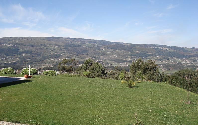 Villa Vistas da casa Viana do Castelo Ponte de Lima Villa rural - Vistas da casa