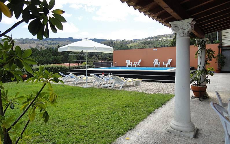 Villa Jardim Viana do Castelo Ponte de Lima Villa rural - Jardim