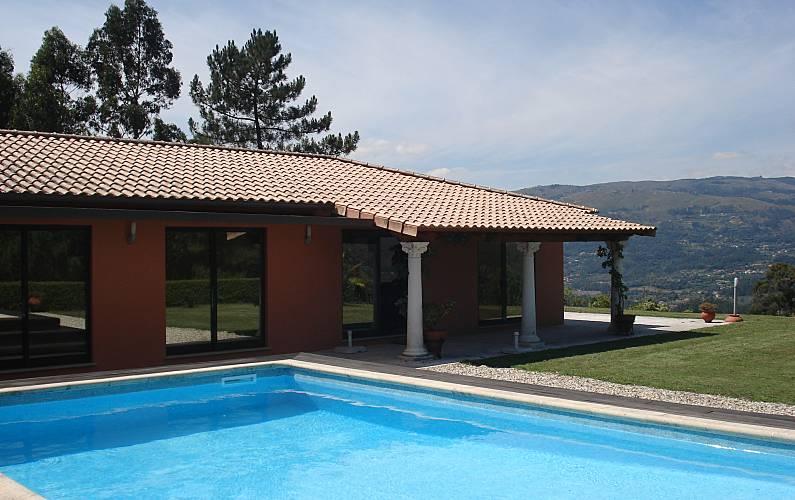 Villa Piscina Viana do Castelo Ponte de Lima Villa rural - Piscina