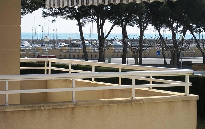 Apartment Terrace Tarragona Vandellòs i l'Hospitalet de l'Infant Apartment - Terrace