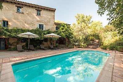 Gran masía catalana de lujo con jardin y piscina Girona/Gerona