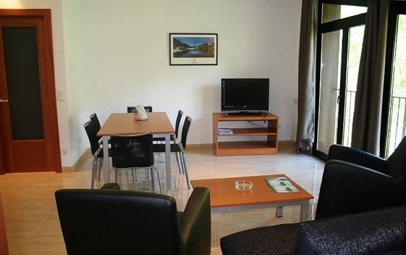 7 Salón Ordino Apartamento - Salón