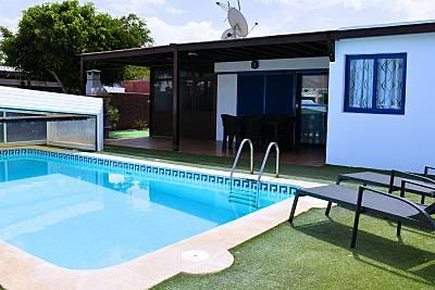 villa indigo Piscina Privada. 300m Playa Lanzarote Lanzarote