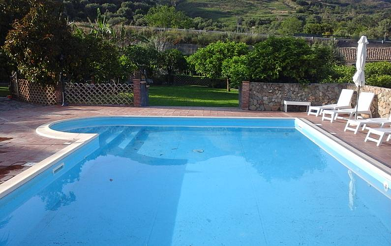 3 Swimming pool Catania Calatabiano Countryside villa - Swimming pool