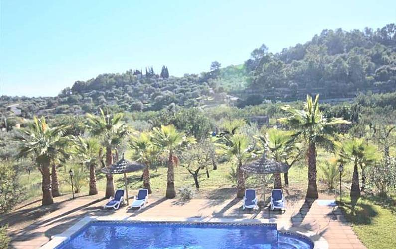 CAS MESTRE- Finca in Selva (Mallorca- Serra Tramuntana) 8 Personen ...