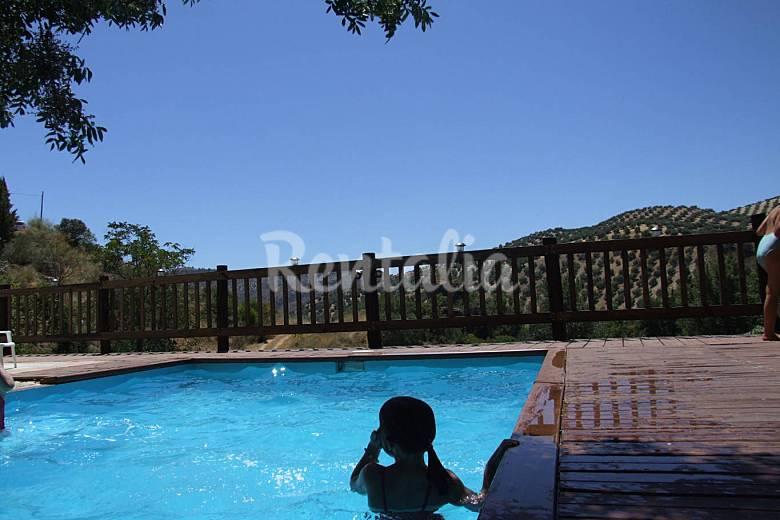 Casa de 3 habitaciones con piscina algarinejo granada for Piscina publica alhendin granada
