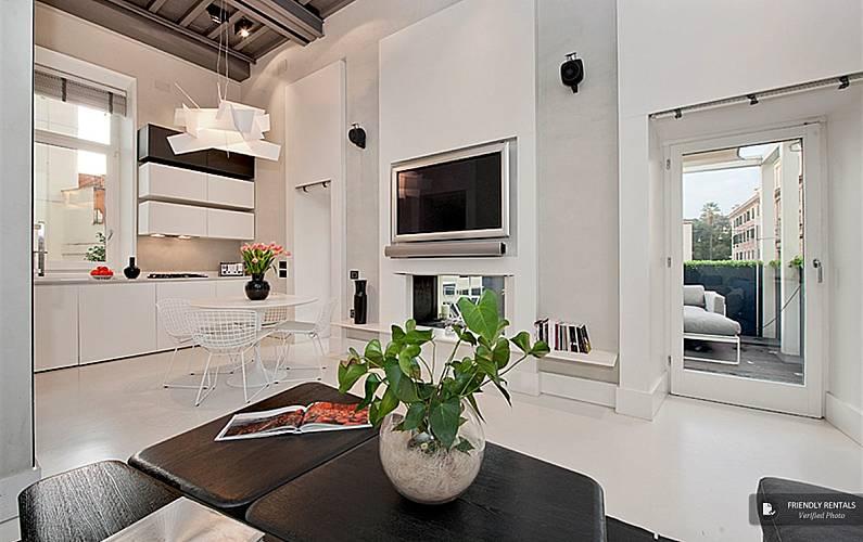 L appartamento prometheus a roma stazione roma roma for Appartamento design roma
