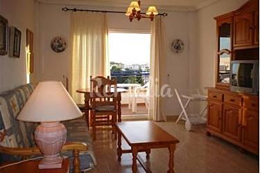 On Living-room Almería Vera Apartment