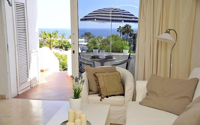 Vista Salón Lanzarote Tías Apartamento - Salón