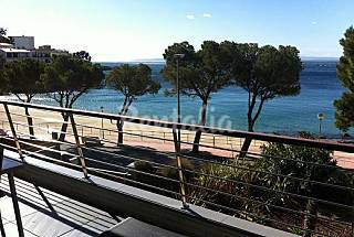 2 Luxurious Aps. with 2 bedrooms on beach front line Girona