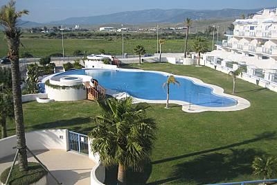 Atico duplexi,  urbanizacion gran piscina. Wifi. Cádiz