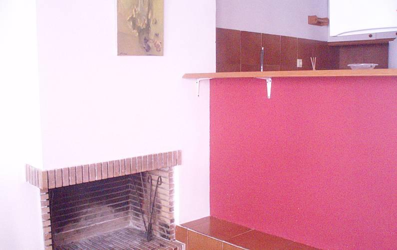 2 Interior da casa Tarragona Alcanar Apartamento - Interior da casa