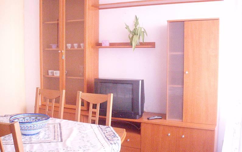 2 Sala de Jantar Tarragona Alcanar Apartamento - Sala de Jantar