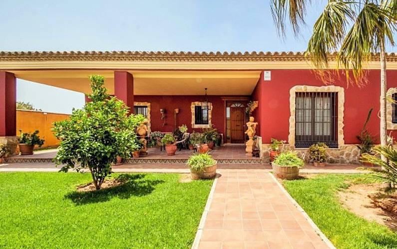 Villa Armonía. 9-11 personas a 2.3 km la playa Cádiz