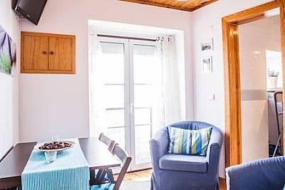 Apartamento com 2 quartos a 5 km da praia Lisboa