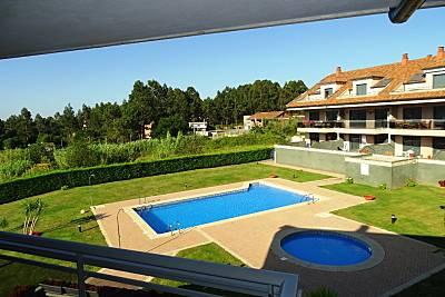 Duplex  de 3  habitaciones a 2.5 km de la playa Pontevedra
