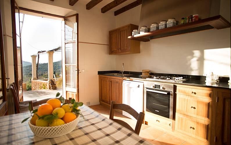 Villa Cucina Maiorca Sóller Villa di campagna - Cucina