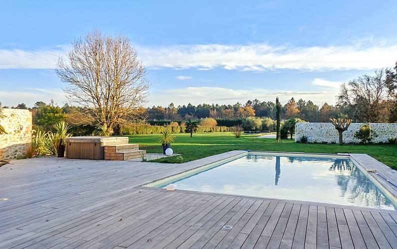 Meravigliosa villa con piscina Gironda -