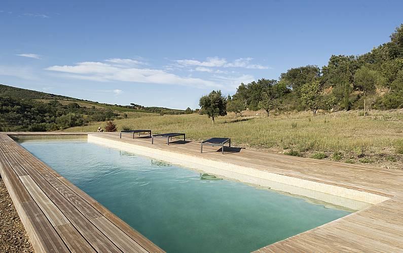 Castillo con acceso piscina Pirineos Orientales -