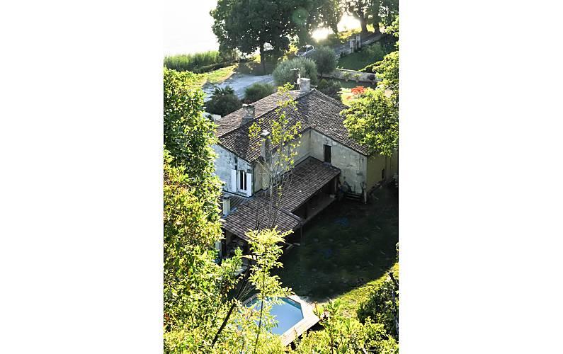 Casa Gironde Bayon-sur-Gironde casa -