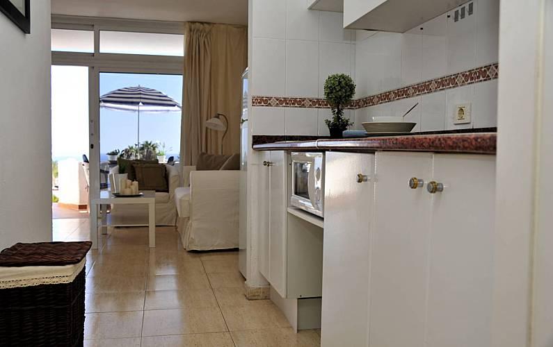 Vista Cocina Lanzarote Tías Apartamento - Cocina