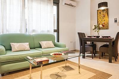 Apartamento para 4-6 pessoas em Sevilha centro Sevilha