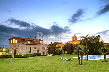 Villa Parte esterna della casa Girona Vilademuls Villa di campagna