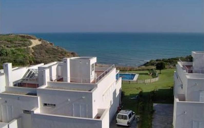 3f1fea172a0bd Chalet en primera línea de playa vistas al mar. Cádiz - Vistas desde la casa