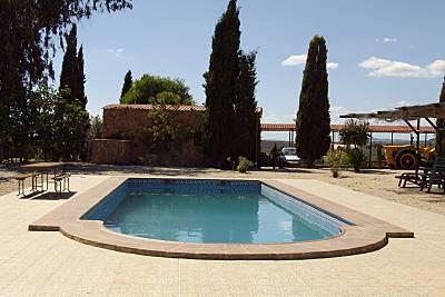 Espaciosa casa con acceso piscina Málaga