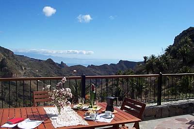 Casa rural con increíble vista La Gomera