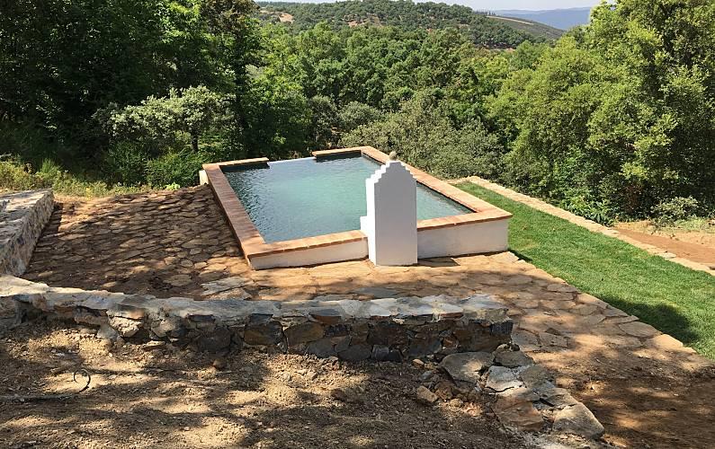 Espaciosa casa con piscina Huelva
