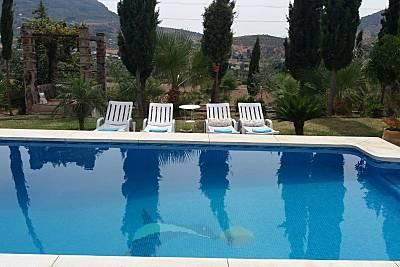 Espaciosa casa con piscina & balcón Málaga