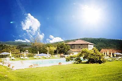 Bonito apt con acceso piscina Arezzo