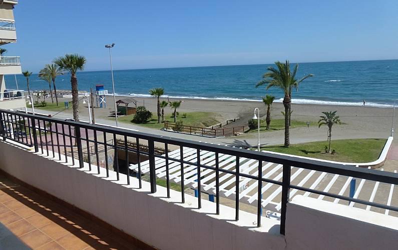 Apartment For Rent On The Beach Front Line Rincon De La Victoria