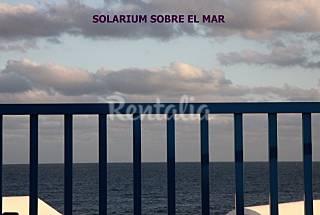 Duplex con chill out sobre el mar.  Lanzarote