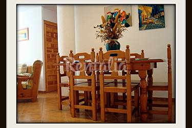 Aparts. Dining-room Cádiz Barbate Apartment