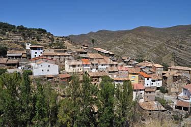 Casa Parte esterna della casa Rioja (La) Cornago Casa di campagna