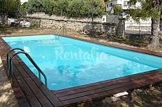 Villa con piscina salina 8-10 plazas, en entorno cultural Madrid