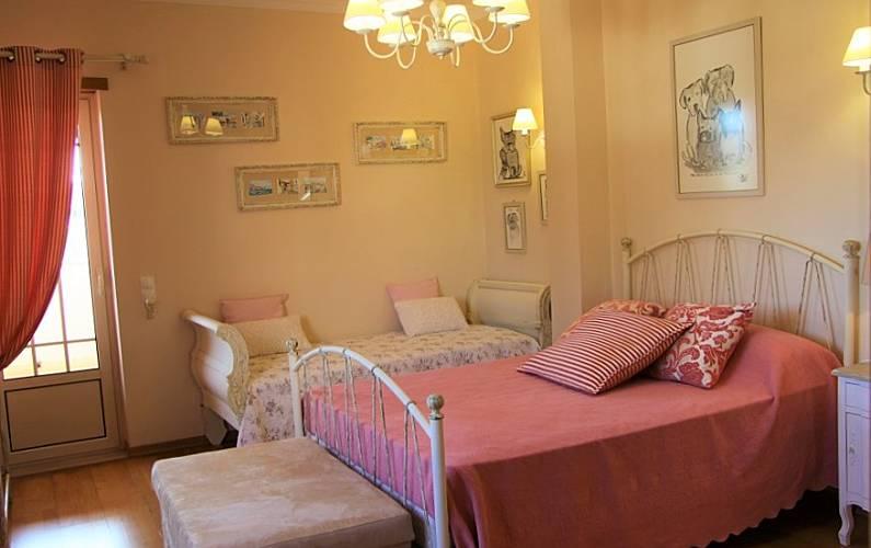 Casa Quarto Algarve-Faro Portimão vivenda - Quarto
