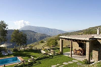 Villa en Portugos, la Alpujarra, Granada Piscina  Granada