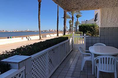 Casa en alquiler en 1ª línea de playa Murcia